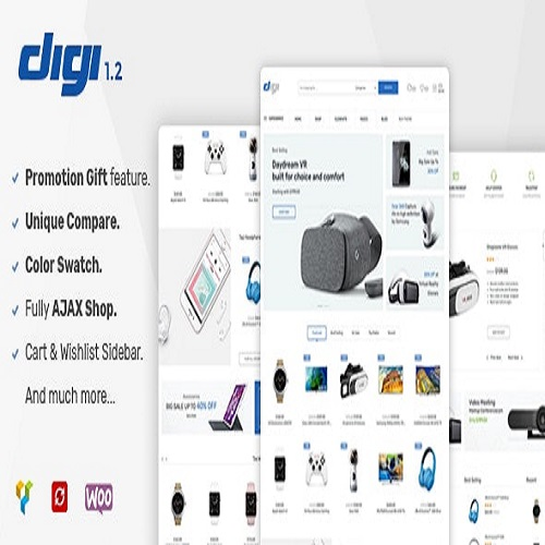 Digi Electronics Store WooCommerce Theme