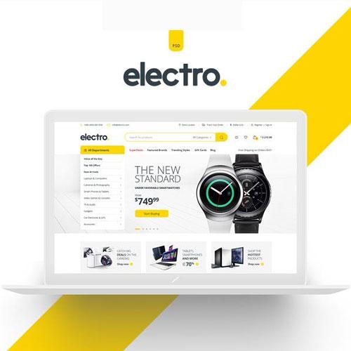 Electro Electronics Store WooCommerce Theme 1