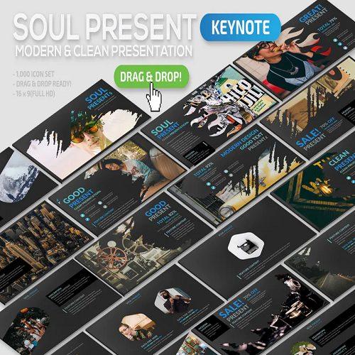 Soul Keynote Template