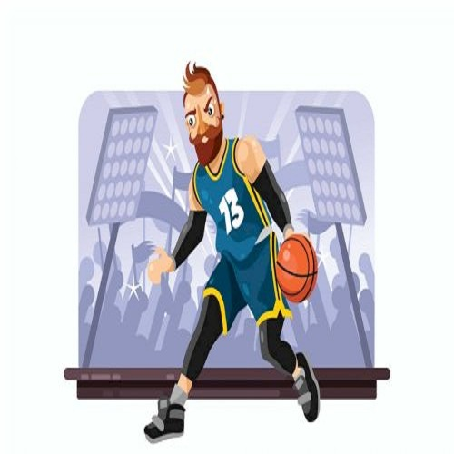 basketball player vector illustration 1571648409