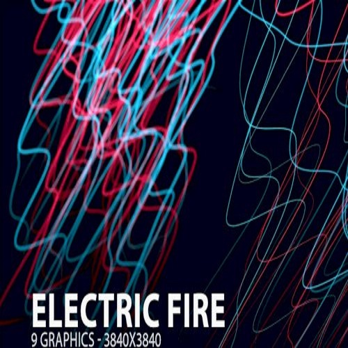 electric fire backgrounds 1573581605
