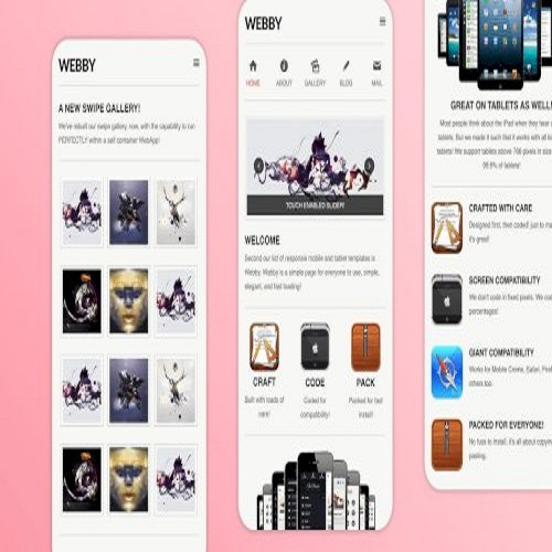 webby simple creative mobile template 1574157615