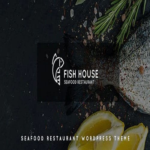 Fish House A Stylish Seafood Restaurant Cafe Bar WordPress Theme