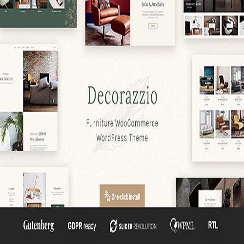 Geometry Interior Design Furniture Shop WordPress Theme