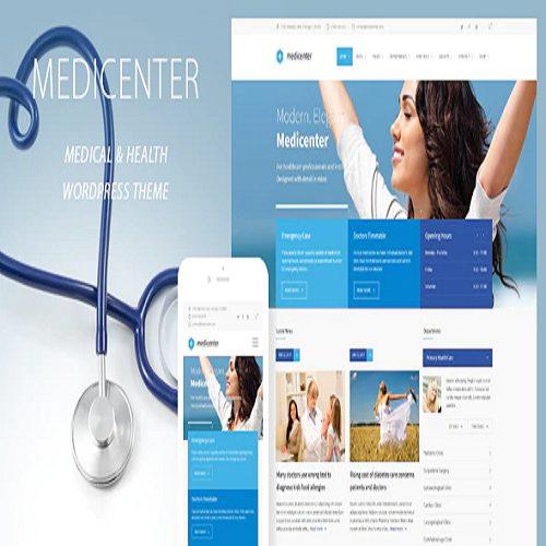 LuxMed Medicine Healthcare Doctor WordPress Theme