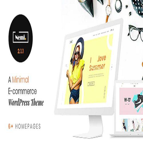 Nemi Multi Store Responsive WordPress Theme