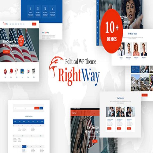 Right Way Election Campaign and Political Candidate WordPress Theme