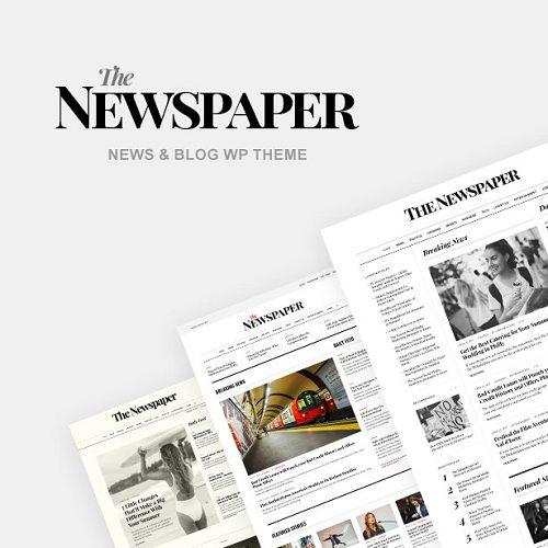 The Newspaper Magazine Editorial WordPress Theme