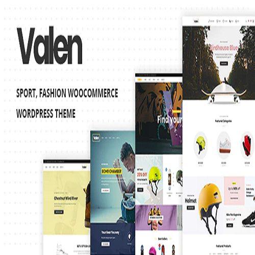 Valen Sport Fashion WooCommerce WordPress Theme