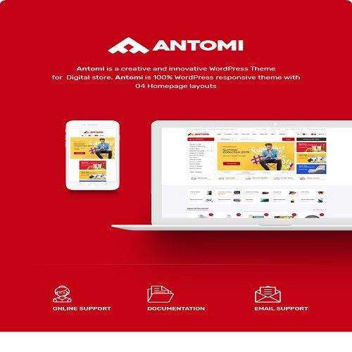 Antomi Multipurpose Theme for WooCommerce WordPress