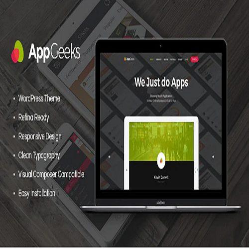 AppGeeks A Web Studio Creative Agency WordPress Theme