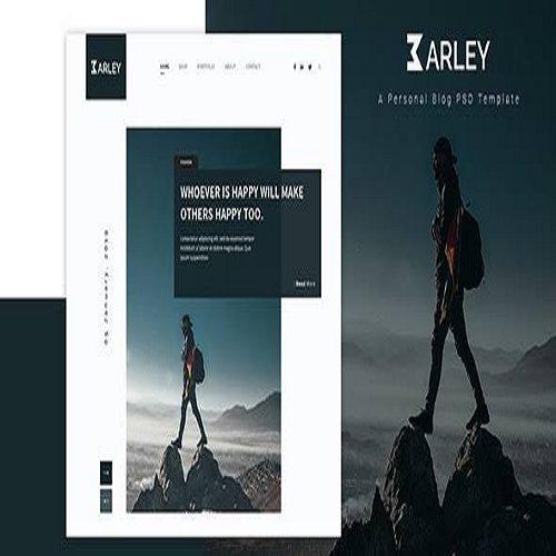 Barley Creative Personal WordPress Blog Theme