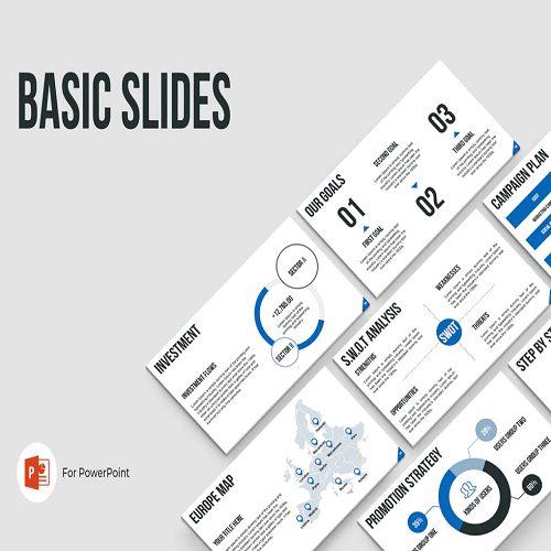 Basic Slides PowerPoint Template