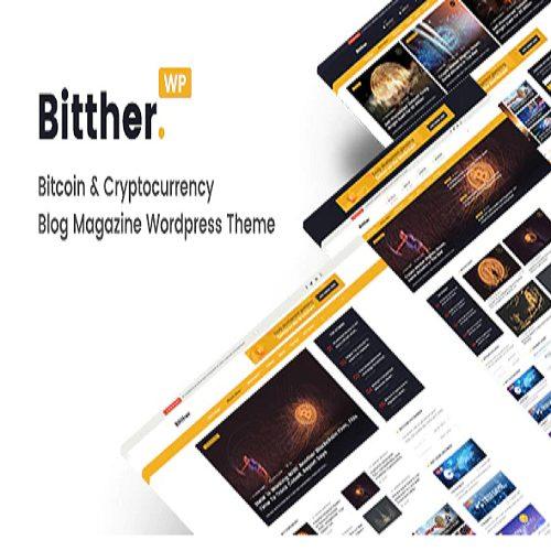 Bitther Magazine and Blog WordPress Theme