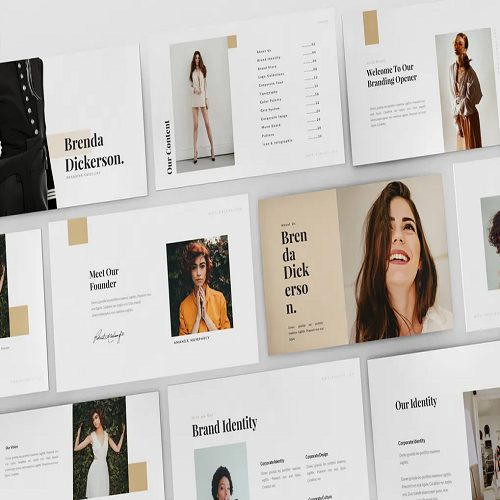 Brenda Brand Guideline Keynote Template