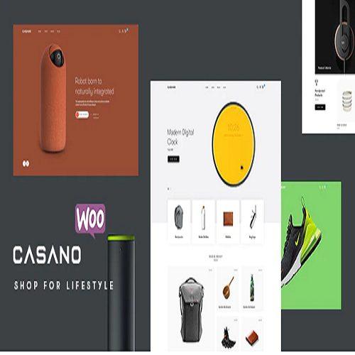 Casano Fashion Accessories WooCommerce Theme