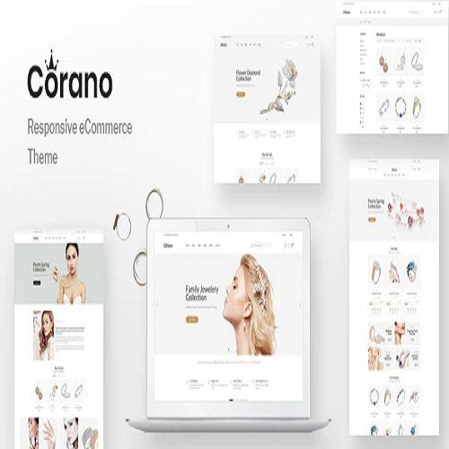 Corano Jewellery Theme for WooCommerce WordPress