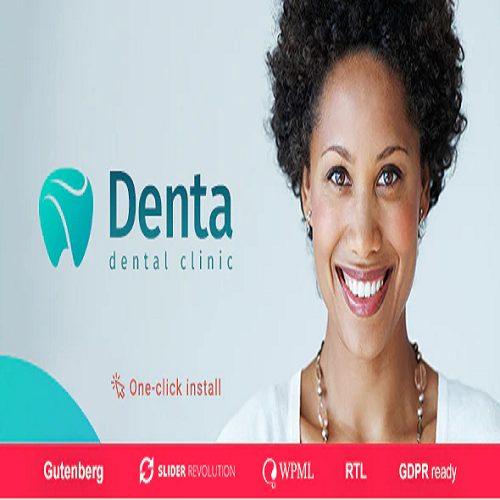Denta Dental Clinic WP Theme