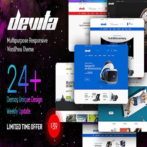Devita Multipurpose Theme for WooCommerce WordPress