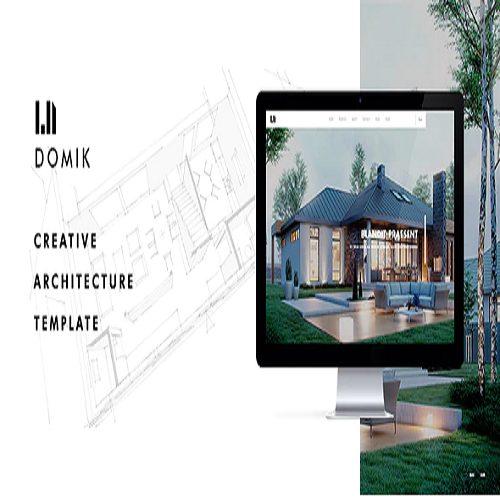 Domik Creative Responsive Architecture WordPress Theme