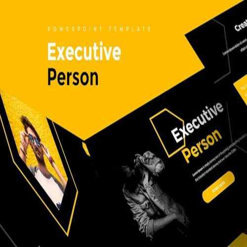 Executive Person Powerpoint Template