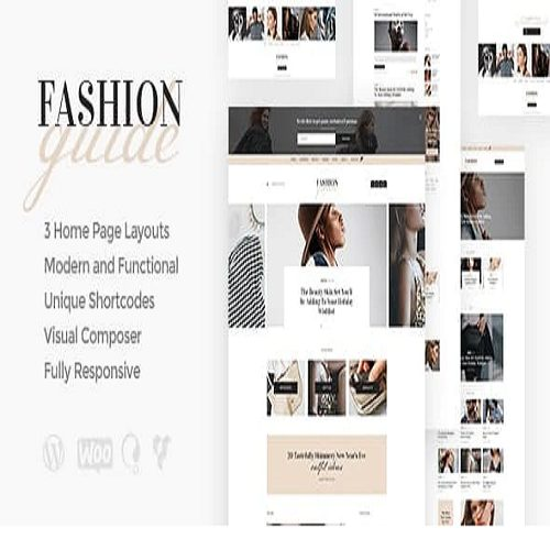 Fashion Guide Online Magazine Lifestyle Blog WordPress Theme