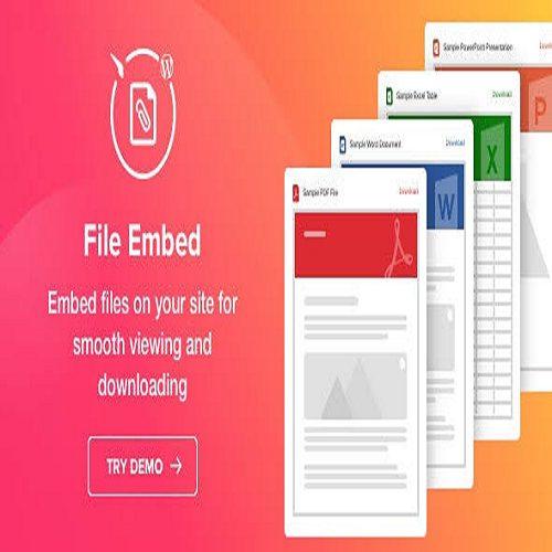 File Viewer WordPress File Embed Plugin