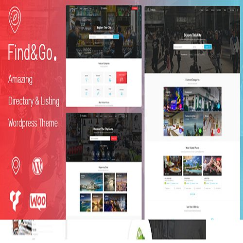 Findgo Directory Listing WordPress Theme