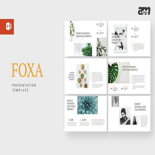 Foxa Powerpoint Template