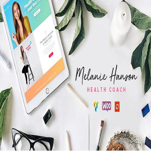 Health Coach Blog Lifestyle Magazine WordPress Theme