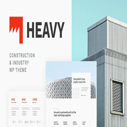 Heavy Industrial WordPress Theme