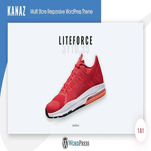 Kanaz Multi Store Responsive WordPress Theme