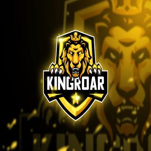 Kingroar Mascot Esport logo