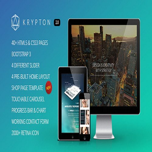 Krypton Responsive Multipurpose WordPress Theme