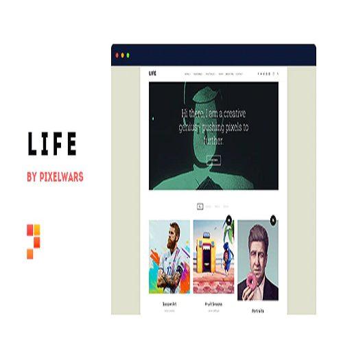 Life Boxed Portfolio WordPress Theme