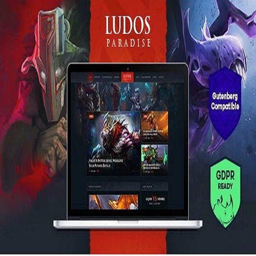 Ludos Paradise Video Gaming Blog Clan Esports WordPress Theme