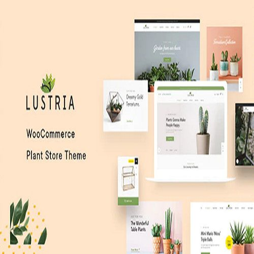 Lustria MultiPurpose Plant Store WordPress Theme