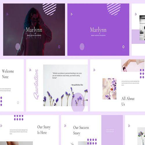 Marlynn Branding Guidelines Powerpoint