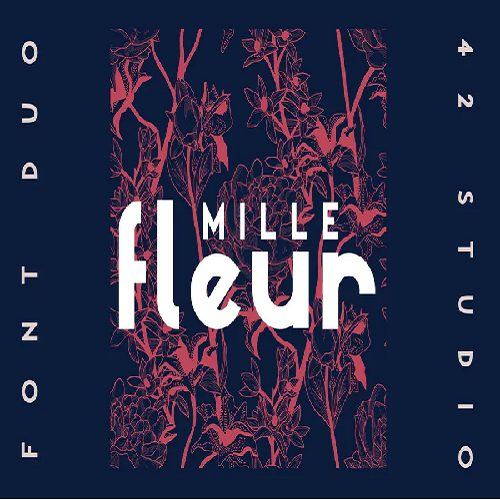 Millefleur Sans Serif Font Duo 1