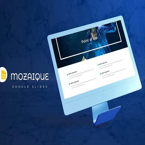 Mozaique Google Slides Template
