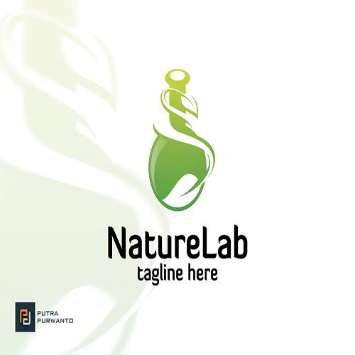 Nature Lab Logo Template