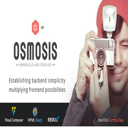 Osmosis Responsive Multi Purpose WordPress Theme