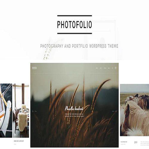 Photofolio Photography Portfolio WordPress Theme