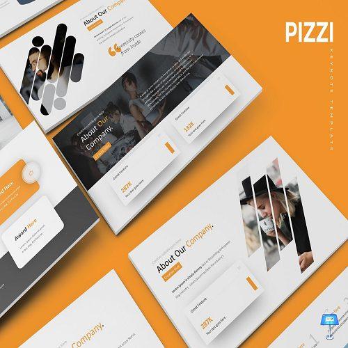 Pizzi Keynote Template