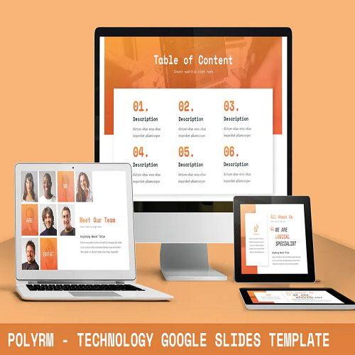 Polyrm Technology Google Slides Template