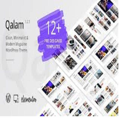 Qalam NewsPaper and Magazine WordPress Theme