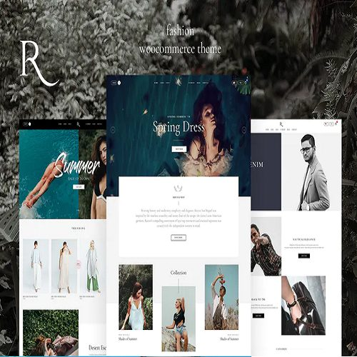 Rion Fashion WordPress Theme for WooCommerce