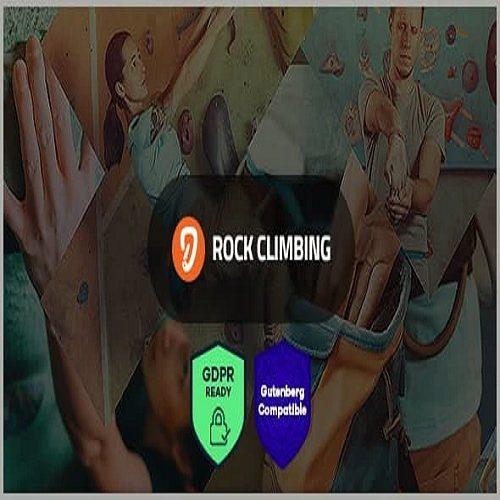 Rock Wall Climbing Sport Club WordPress Theme
