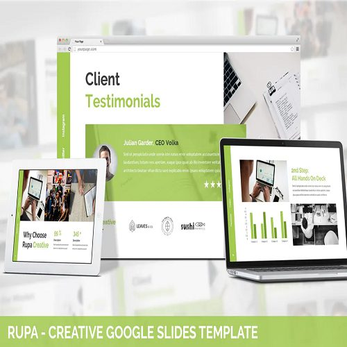 Rupa Creative Google Slides Template