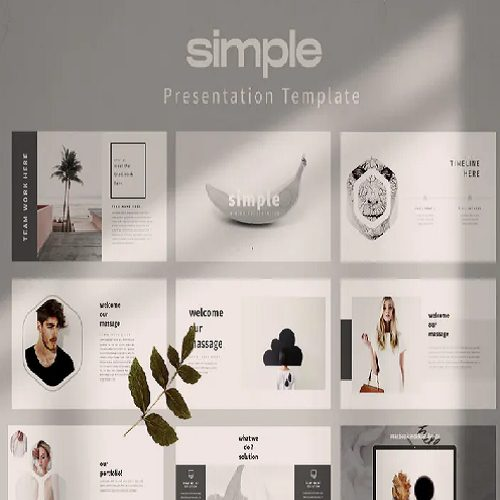 Simple Powerpoint Template LS